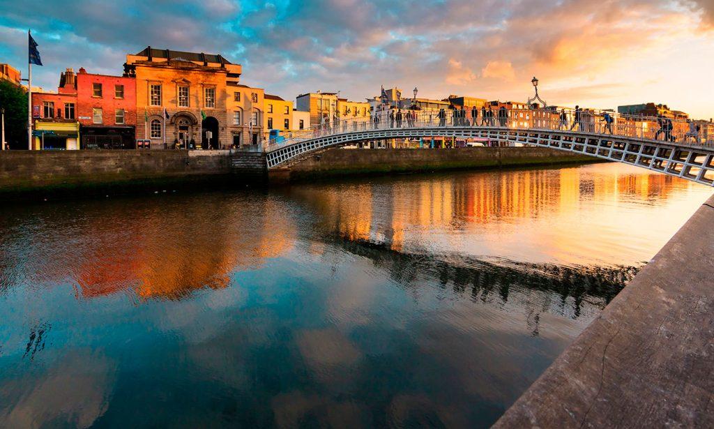 Dublín, río Liffey