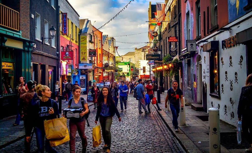 Región del Temple Bar, Dublín, Irlanda