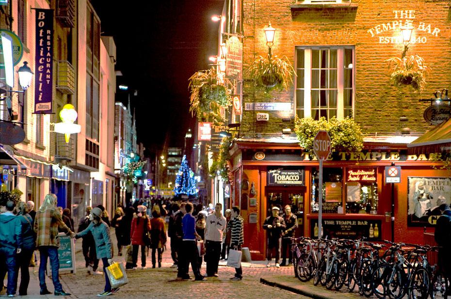 Temple Bar, uma das dicas do que fazer em Dublin em 1 dia