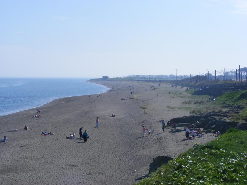 Greystones, praia na Irlanda