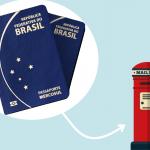 renovar passaporte brasileiro pelo correio em dublin