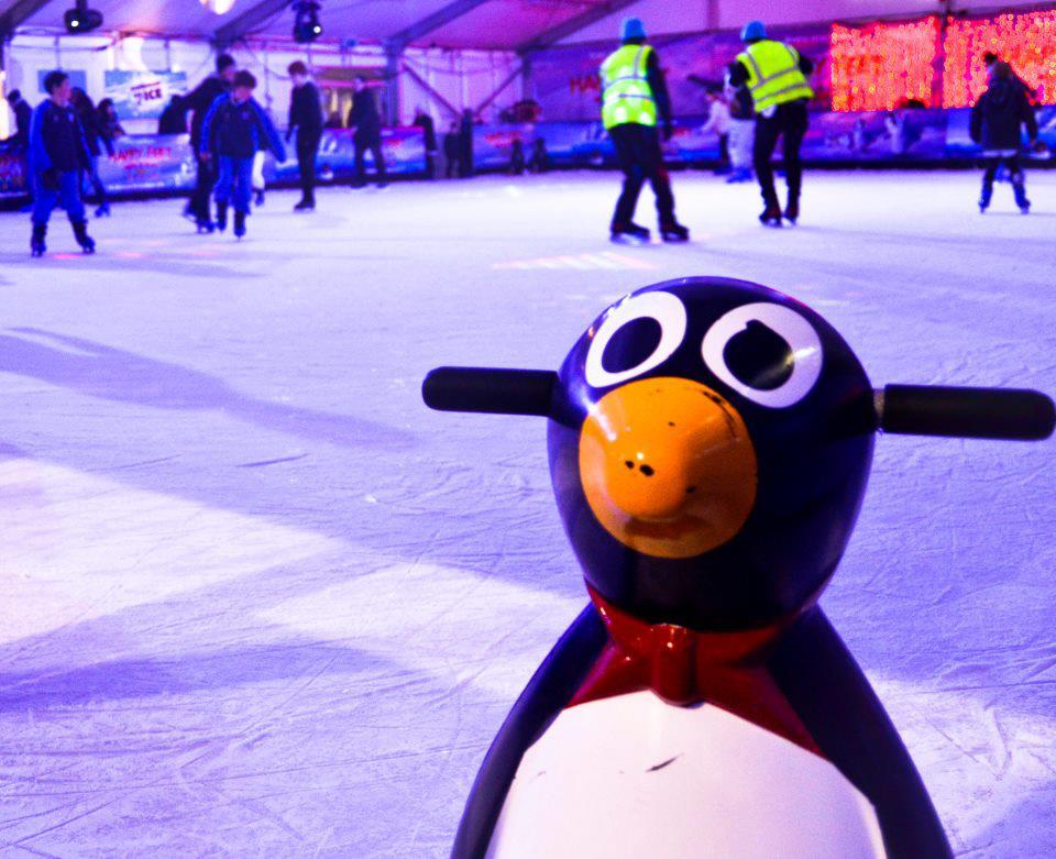 pista de patinação em Dublin